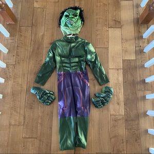Disney Incredible Hulk Padded Kids Costume